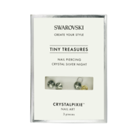 Swarovski Tiny Treasures - Crystal Silver Night (Nail Piercing)