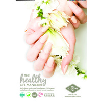 Poster - The Healthy Gel Manicure - Natural nail (A2 size)