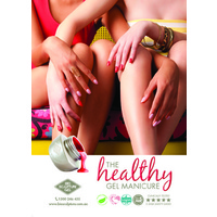 Poster - The Healthy Gel Manicure (A4 size)