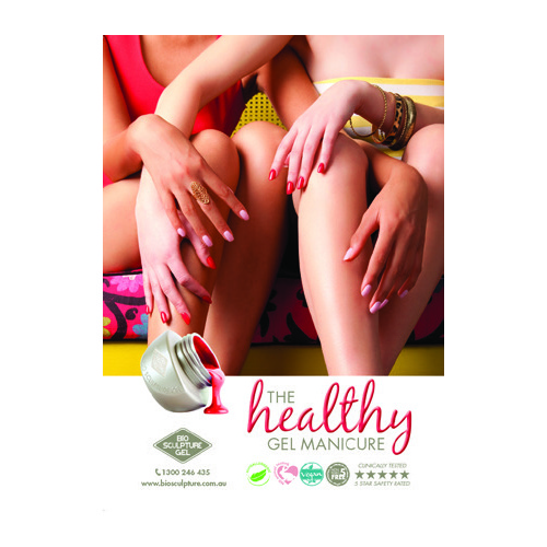 Poster - The Healthy Gel Manicure (A2 size)